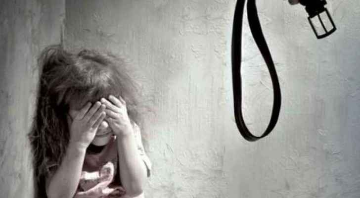 The little girl had been a victim of domestic violence for a long time.