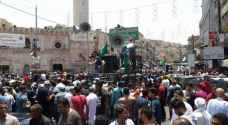 Jordanians protest Israeli violations in Jerusalem