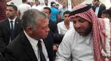 King Abdullah visits the Jawawdeh family to pay his condolences