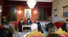 Patriarch Theophilos III of Jerusalem holds urgent press conference in Amman