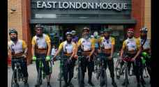 British cyclists reach Medina for Hajj after gruelling six-week journey