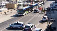 Driver arrested in Marseilles after driving into bus stops, killing one
