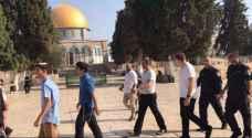 91 Israeli settlers storm Al Aqsa