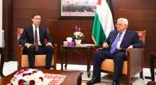Kushner discusses peace effots with Abbas