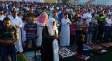 Jordanians hold Eid Al Adha prayers