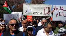 Jordanians protest Israeli gas deal in Amman