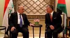 King Abdullah meets Iraqi Prime Minister