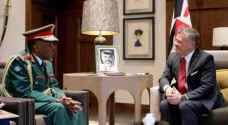King receives Tanzanian Chairman of Joint Chiefs of Staff