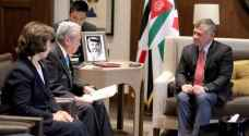 King Abdullah II discusses Jerusalem with Head of Japan's House of Councillors