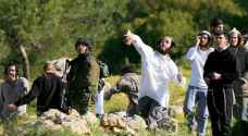 Israeli settlers attack Palestinian school in the West Bank