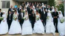 200 Jordanian couples to tie the knot at mass wedding in Ramtha