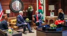 PHOTOS: King Abdullah II meets US Vice President Mike Pence in Amman
