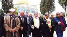 Omani minister makes rare visit to Al Aqsa Mosque in Jerusalem