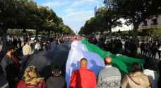 Tunisians demonstrate in solidarity with Palestinian Land Day