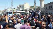 Photos: Jordanians have Friday procession in solidarity with Palestinians