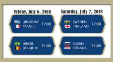FIFA Quarter-Finals: four matches, two days