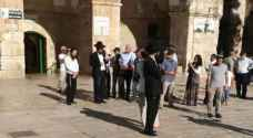 Israeli Minister storms Al-Aqsa Mosque with a group of settlers