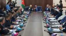 Razzaz meets with Reform Bloc members