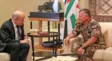 King meets French FM, France sends €1 billion Jordan's way