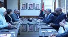 UNHCR Commissioner discusses refugees' burden on Jordan
