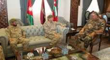 Freihat receives Religious Affairs' Director of Saudi Army