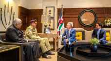 King, Crown Prince receive Pakistani Chief of Army Staff