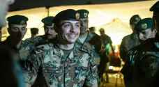 HRH Prince Al Hussein attends military exercise with Haqiq knights