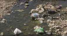 Cleanup campaign of Zarqa river