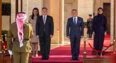 King Abdullah receives Macedonian President, ....