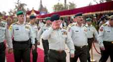 King attends graduation of Forsan Al Mustaqbal officers
