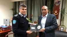 PSD Director Al-Hamoud meets Palestinian counterpart