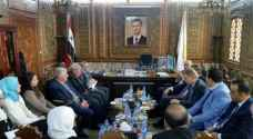 Syria hands Jordanian MPs investment portfolio for private sector