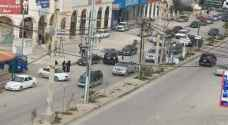 Security patrol  caught driving opposite traffic flow