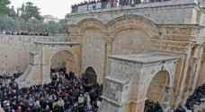Jordan directs renovation of Bab al-Rahma (Gate of Mercy) in Jerusalem