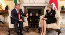 King, British PM agree to continue advancing Jordan-UK cooperation