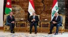 Final statement of  tripartite summit in Cairo