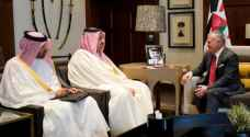 King receives Deputy PM of Qatar