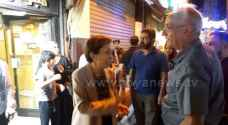 Roya cameras capture photos of HRH Princess Basma Bint Talal at Downtown