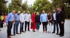 Photos: Queen Rania hosts iftar banquet for high-achieving Jordanian youth