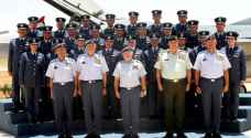 King attends graduation of 48th class of air force cadets