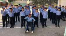 Young boy with physical disability achieves dream in being security officer