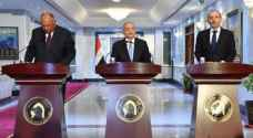 Jordanian, Iraqi, Egyptian foreign ministers discuss cooperation