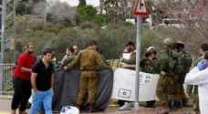Israeli troops open fire on Palestinian citizen under pretext he stabbed Israeli soldier