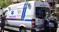 One dead, another injured in two-vehicle collision accident on Zarqa highway