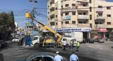 Maintenance work begins in Ramtha following riots