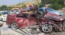 One killed, nine injured in road accident on Amman-Irbid road