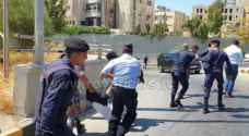 Security forces use tear gas during Teachers Syndicate protest near 4th circle