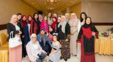 Queen Rania meets with women from Abbadi Tribe