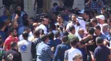 Video: Teachers attack Roya crew during teachers' protest in Amman
