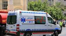 Eight injured in two accidents in Amman, Irbid